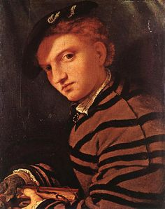 Young Man with Book, 1525-26, Lorenzo Lotto