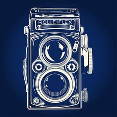 vintage camera illustrations - Google Search                                                                                                                                                                                 More