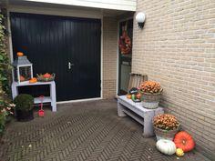 Welkom herfst voordeur