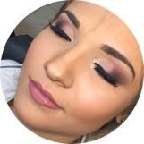 Maquiagem romantica com tons de rosa