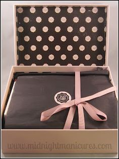 Midnight Manicures: GlossyBox - August 2012 - Click through to see the whole review.