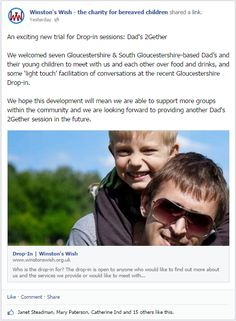 An exciting new trial for Drop-in sessions: Dad's 2Gether