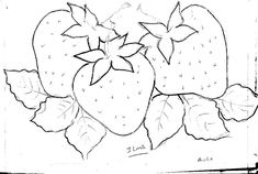 Applique Patterns, Applique Designs, Cross Stitch Patterns, Fruit Coloring Pages, Fruits Drawing, Small Rangoli Design, Hardanger Embroidery, Wood Burning Art, Fruit Art