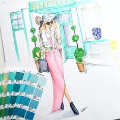 Rongrong DeVoe|杜蓉蓉 (@rongrong_devoe_illustration) • fashion illustrations, art, style, sketches