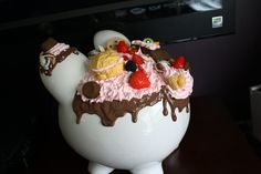 Decoden Piggy Bank - Large. $27.00, via Etsy.