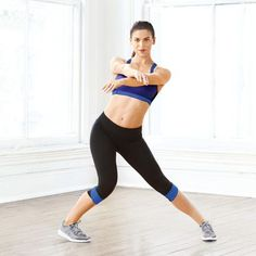 No-Equipment Cardio Moves | Latin Side Step: Works inner and outer thighs