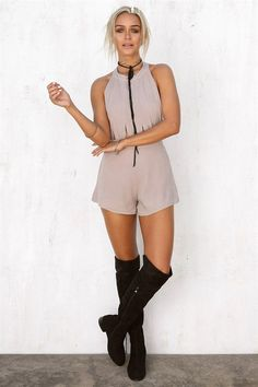 Buy Grazia Cutout Playsuit Online - Playsuits - Women's Clothing & Fashion - SABO SKIRT