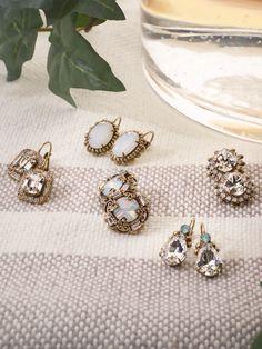 c73fbf716 Handcrafted Artisan Fashion Jewelry Gift Guides. AlliumBeautiful EarringsBaguetteFashion  EarringsMagnoliaGift GuideSwarovski CrystalsArtisanFour