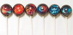 6 Solar Winds Lollipops TM Fire Wind Earth by designerlollipop, $15.00