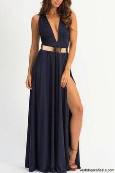 Maxi vestidos escotados para fiesta de noche 2014 - https://vestidoparafiesta.com/maxi-vestidos-escotados-para-fiesta-de-noche-2014/