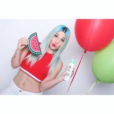 NEU NEU NEU Folgt @mybilou JETZT überall erhältlich !! Splashy Melon #bilou by bibisbeautypalace