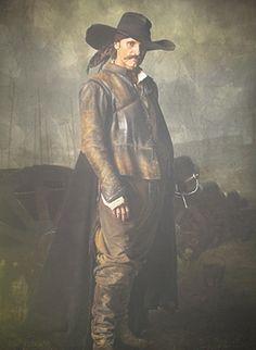Viggo Mortensen in the 2006 Spanish movie, Alatriste. Renaissance Costume, Renaissance Men, Medieval Costume, Pop Up Art, Viggo Mortensen, Sword Fight, Cowboy Up, Army Uniform, Pictures Of People