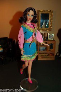 Mod Era Barbie 1970 Gypsy Spirit #1458
