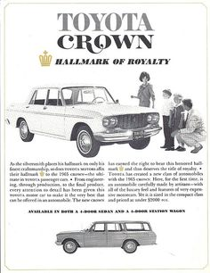 1965 Toyota Crown for USA