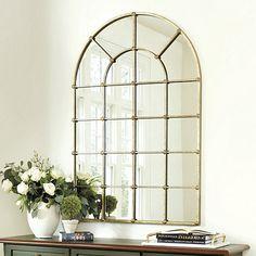 """Grand Palais 54"""" Arch Mirror"""