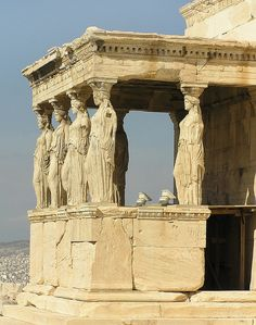 The Porch of the Caryatids, The Acropolis of Athens, Greece