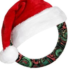 Holiday Paisley Steering Wheel Cover by EmbellishMePattyVhttp://etsy.me/1WHvDcg