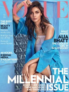 Vogue India February 2017 Cover with Alia Bhatt