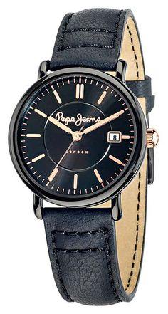 Pepe Jeans London Charlie rannekello R2351105501 - Kultatähti.fi verkkokaupasta Pepe Jeans, Tutu, London, Watches, Leather, Accessories, Fashion, Moda, Wristwatches