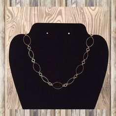 Silver and gold long necklace. Cute silver and gold long necklace. Great for layering! 18 inches long. Jewelry Necklaces