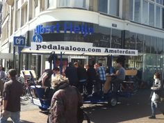 Saloon on Wheels, Amsterdam