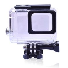 "45m Waterproof Diving Housing Case for Gopro Hero 5 Black Action Camera Accessories  45m Waterproof Diving Housing Case for Gopro Hero 5 Black Action Camera Accessories Description: 1. Shell material imported acrylic ""plexiglass"" selected raw materials professional manufacturing rigorous testing whether ice and snow or deep-sea snorkeling can easily be right. 2. High-quality glass as a waterproof shell lens AF AR double optical coating. Lens more light transmittance easy to clean…"