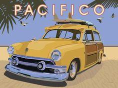 David Grandin - Pacifico - art prints and posters