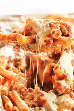 Cheesy Baked Ziti with Sausage - this will become a staple at your family dinners.  From browneyedbaker.com