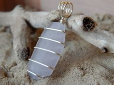 Seaglass Jewelry  Beautiful Rhode Island seaglass pendant by ItsAllWashedUp on Etsy, $12.00