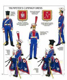 1° Rgt. Trombettiere tenuta da campagna 1810-1814
