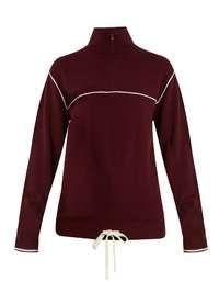 Shop Gorski Sable Fur Knit Zip Vest, Brown at Modalist   M0010000116480