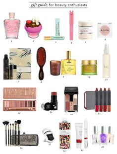 Gift Guide : For Beauty Enthusiasts // rolala loves