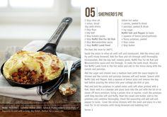 Nomu Recipe Cards Shepherd's Pie
