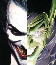 Joker & Green Goblin •Alex Ross