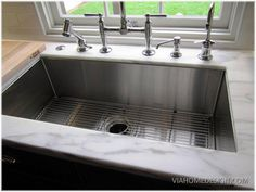 Coolest kitchen sinks on the planet the transformer of sinks home depot americast kitchen sink workwithnaturefo