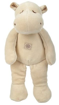 "$22.87-$24.99 Baby Andrew is a soft and cuddly plush beige hippo made with certified organic and natural cotton.    Product Measures 11""    Recommended Ages: 0 months & up"