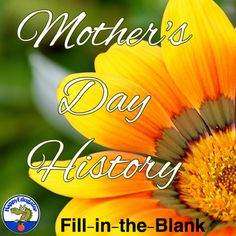 Mother's Day History - Fun Fill-in-the-Blank Context Clues