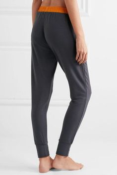Elle Macpherson Body - Chic French Terry Pants - Dark gray - x large