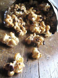 "Cacao Nib Caramel Corn (use dairy free ""butter"")"