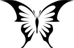 STENCILS Large Butterfly 23 Painting Stencil Floor Wall