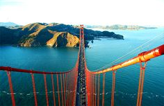The Golden Gate, San Francisco, California- I think this is the BEST pictue of the Golden Gate I have ever seen. Oh The Places You'll Go, Places To Travel, Places To Visit, Travel Destinations, Voyager C'est Vivre, Road Trip, San Fransisco, San Francisco California, California Usa