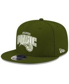New Era Orlando Magic Fall Dubs 9FIFTY Snapback Cap - Green Adjustable
