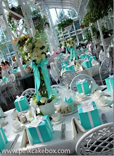 Breakfast at Tiffany's Party   Breakfast at Tiffany's–Wedding Theme Inspiration   Jewellery Bijou