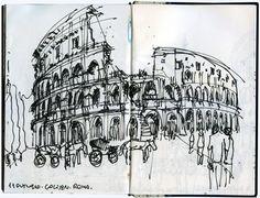 Urban Sketchers: Rome