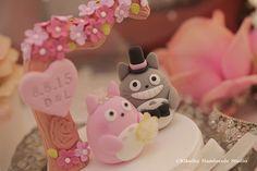Totoro トトロ wedding cake topper