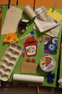 WELKOM IN DE KIKKERKLAS !: MOS project: ook de kleinste kleuters doen mee ! Community Helpers Preschool, Preschool Lessons, Preschool Activities, Recycling, Classroom Jobs, Recycled Crafts, Educational Activities, Earth Day, Painting For Kids
