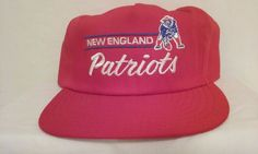 VINTAGE STYLE RED/WHITE/BLUE NEW ENGLAND PATRIOTS FOOTBALL NFL CAP SNAP BACK HAT #Annco #BaseballCap