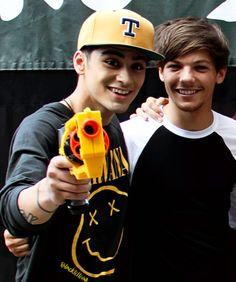 Fan Art of Zayn and Louis for fans of Zayn Malik.