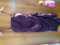 Clotheswap - Purple Evening dress Purple Evening Dress, Evening Dresses, Drawstring Backpack, Wedding Gowns, Backpacks, Bags, Women, Fashion, Evening Gowns Dresses