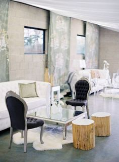 20 Fabulous Wedding Reception Lounge Ideas - MODwedding